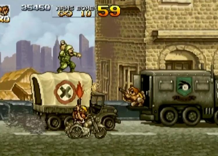 Metal Slug Anthology Wii gameplay