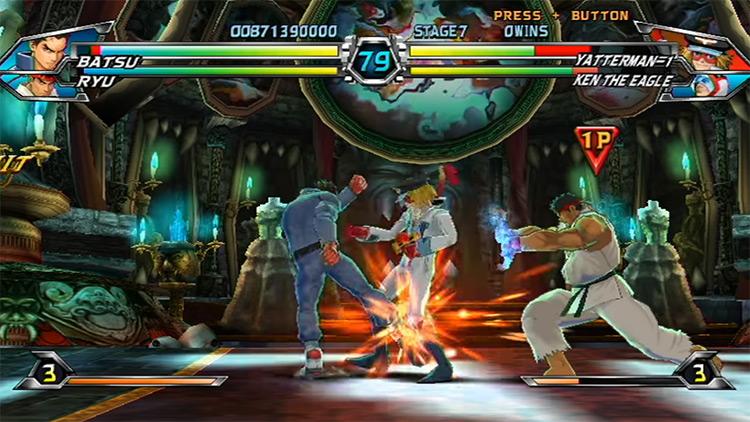 Tatsunoko vs. Capcom: Ultimate All-Stars Wii gameplay