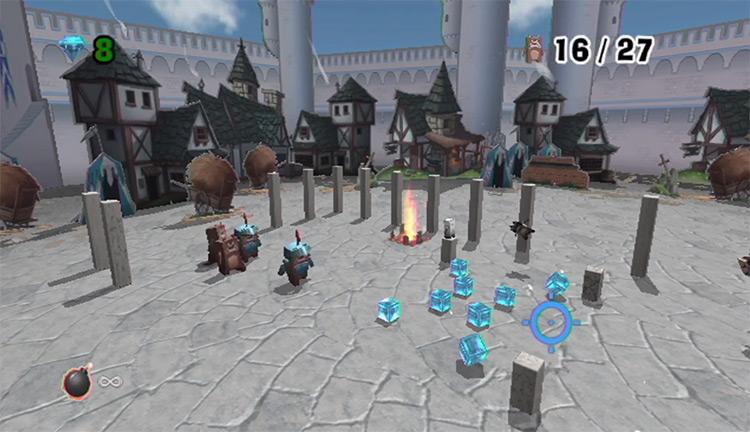Boom Blox gameplay