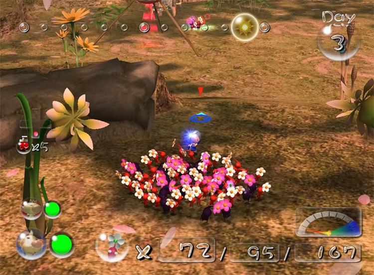 Pikmin 2 Wii gameplay