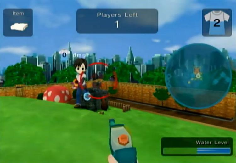 Water Warfare Wii gameplay