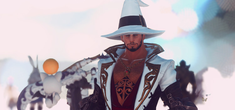WHM White Mage Male Glamour