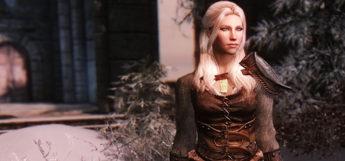 Female light armor preview - Skyrim Warmth Mod