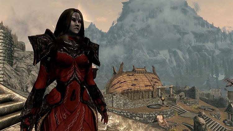 Tribunal Robes and Masks mod for Skyrim