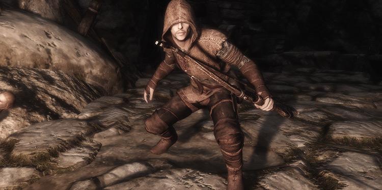 Hunter Archer Armor Skyrim mod
