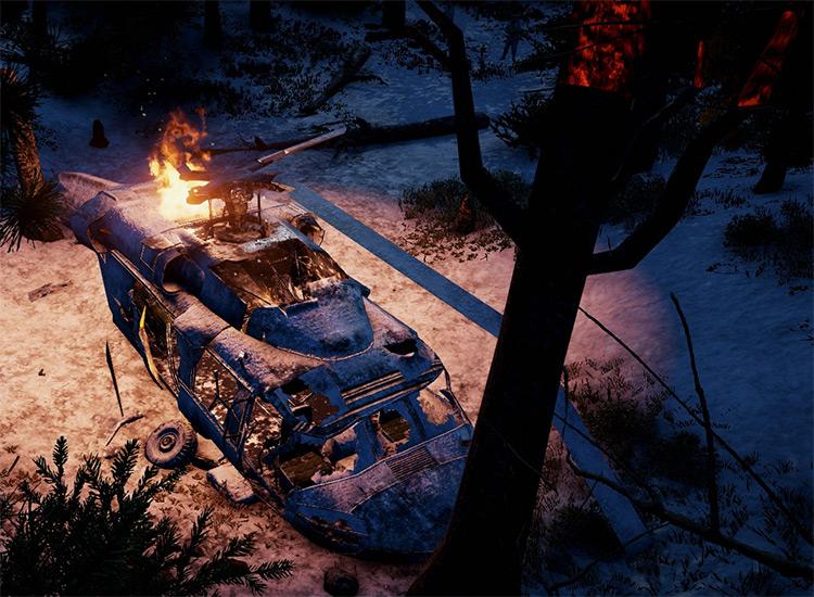 Deep Freeze Mod for Far Cry 4