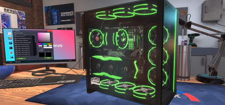 PC Building Sim RGB Rig - Screenshot