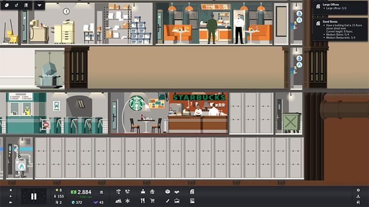 Starbucks Shop Project Highrise Mod screenshot