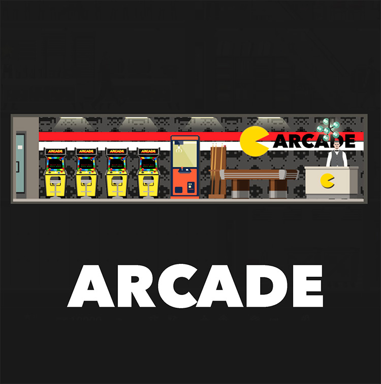 Arcade Mod for Project Highrise