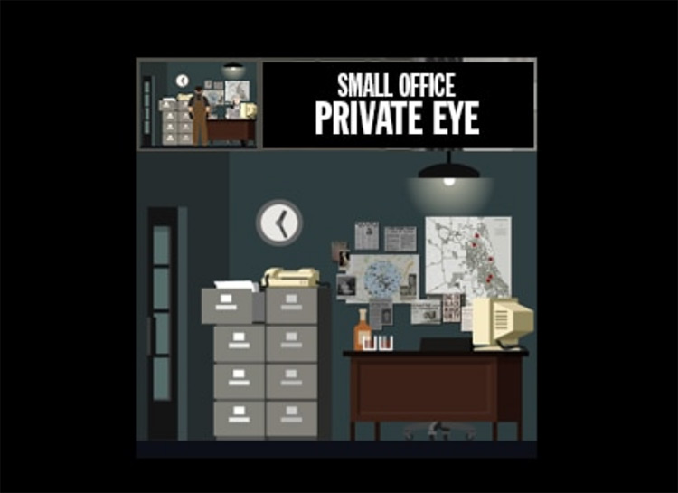 Private Eye Office Mod for Project Highrise