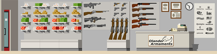 Gun Store Mod for Project Highrise