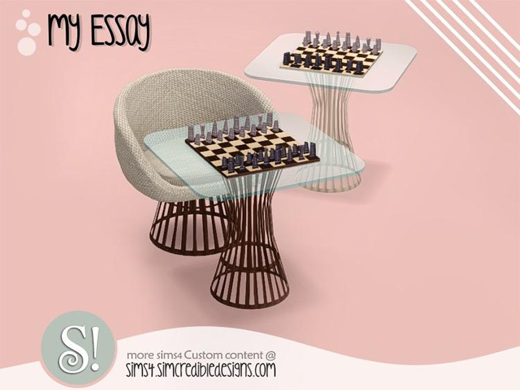 Essay Chess Table CC - TS4