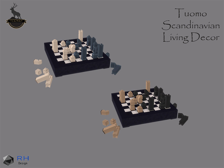 Tuomo Modern Chess Board CC - TS4