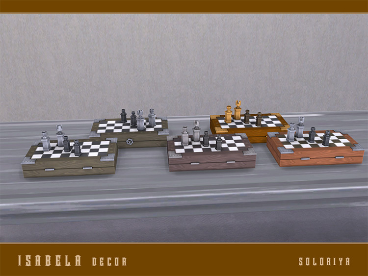 Isabel Décor Chess CC for TS4