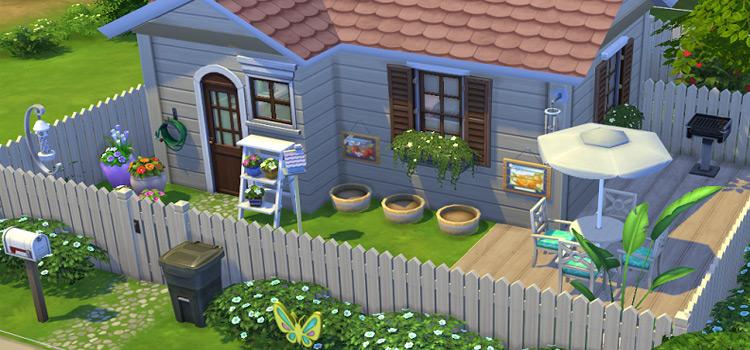 Springtime TS4 Screenshot - Custom Cottage Home Lot