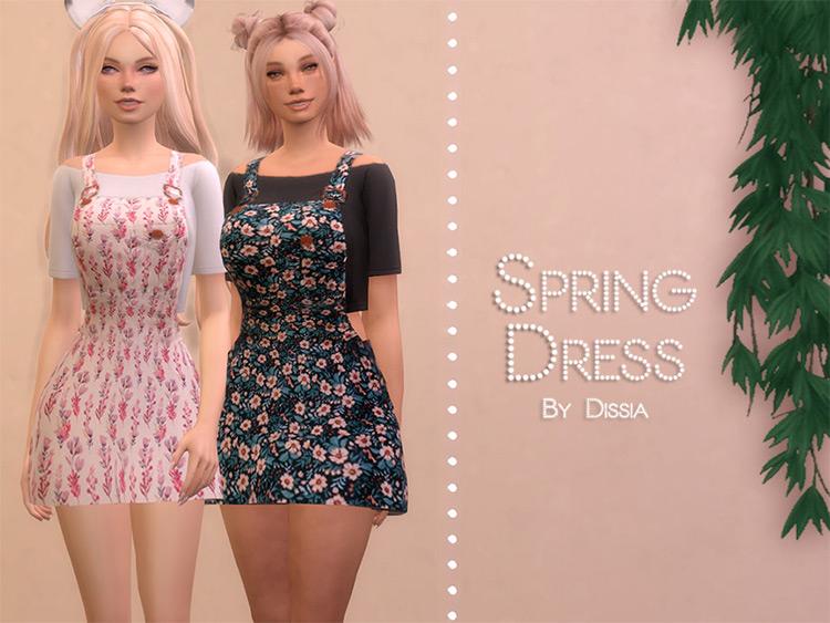 Custom Spring Dress CC - TS4