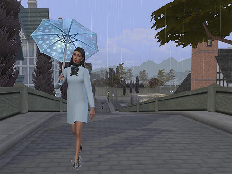 Custom Umbrellas CC for The Sims 4