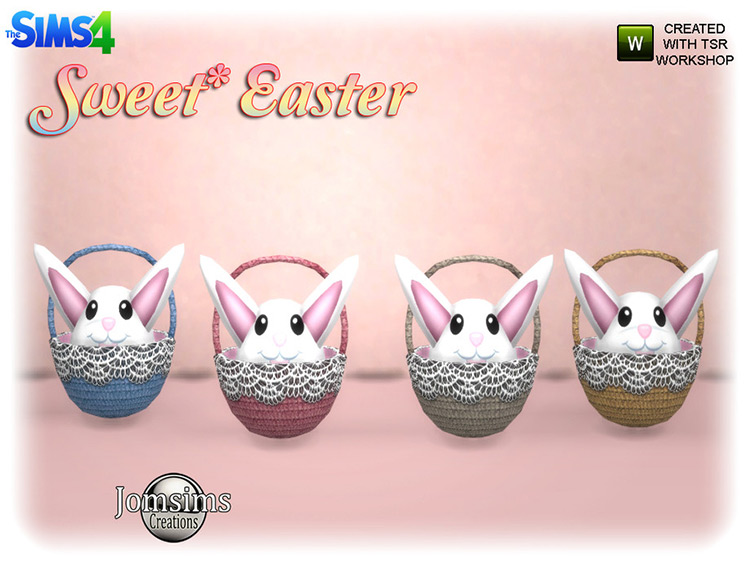 Sweet Easter Décor CC Pack