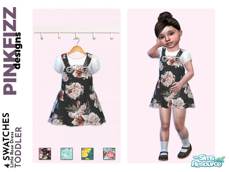 Little Rose Dress CC - TS4
