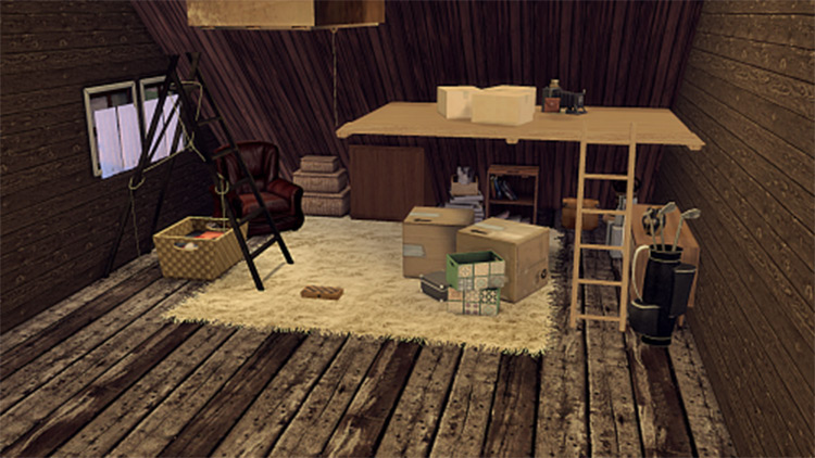 Attic Collection CC - The Sims 4