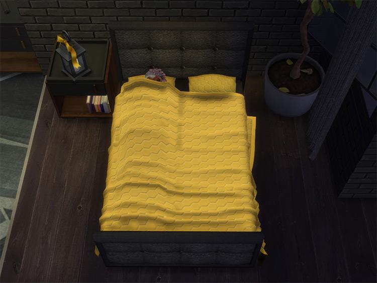 Ashen Double Bed CC - TS4