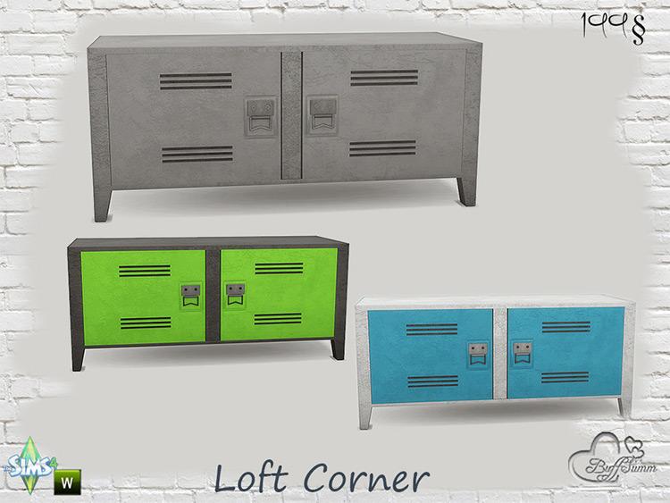 Loft Corner Sideboard CC - TS4
