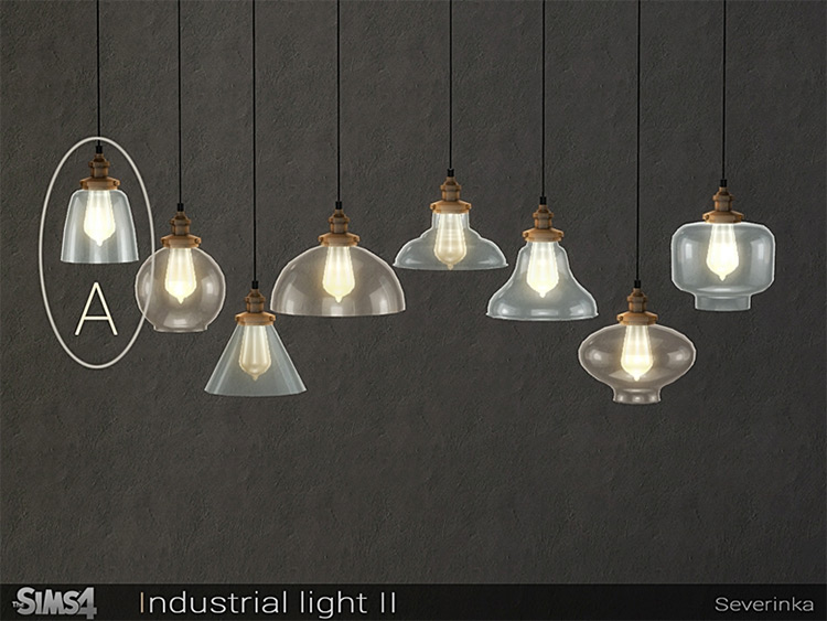 Industrial Light Ceiling Lamp CC - TS4