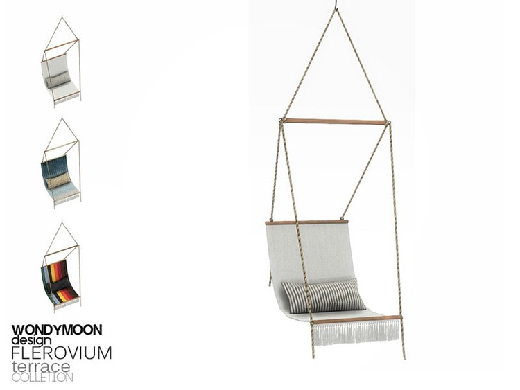 Swing Chair Hammock Design - Sims 4 CC