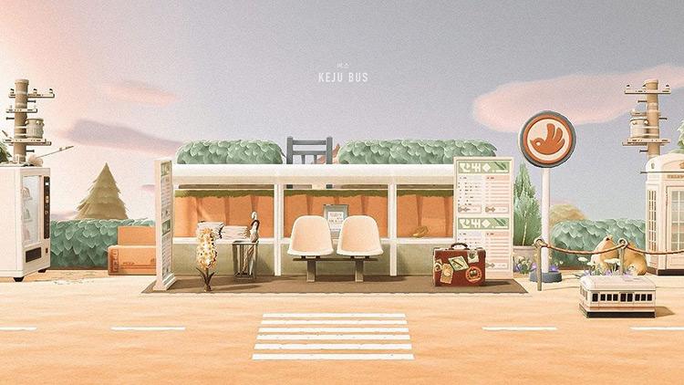 Bus Stop Design Idea - ACNH
