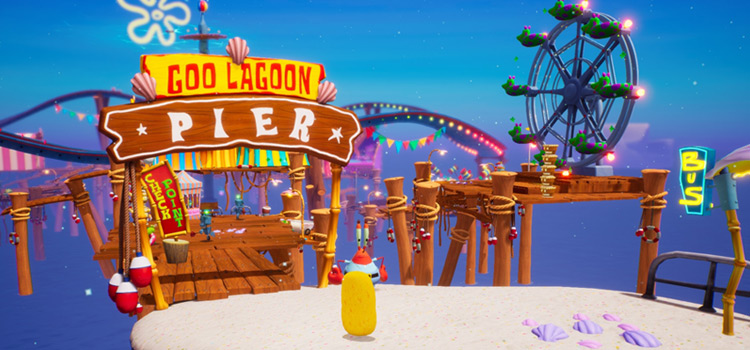 Goo Lagoon Pier Screenshot - BFBB Rehydrated
