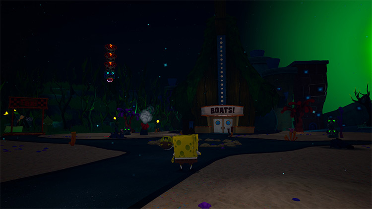 It's Night Time in Bikini Bottom... SpongeBob: BFBB – Rehydrated Mod