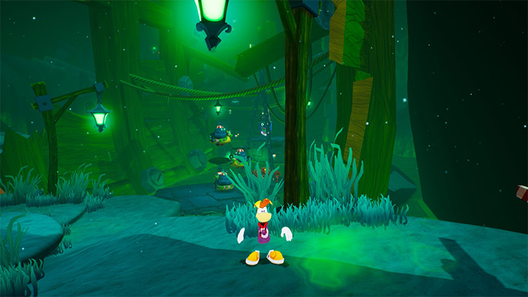 Rayman SpongeBob: Battle For Bikini Bottom – Rehydrated Mod