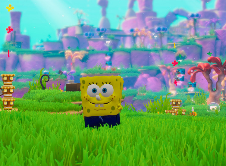 SpongeBob Ripped Pants Outfit Mod screenshot