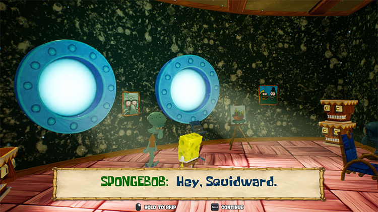 Original Font Replacer SpongeBob: BFBB – Rehydrated Mod