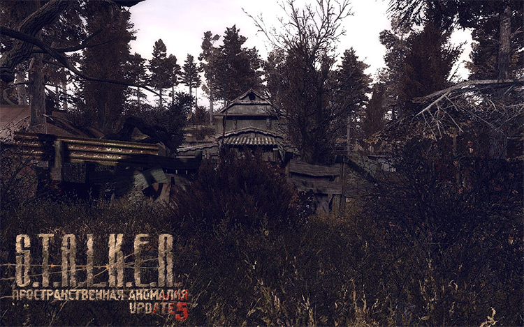 Spatial Anomaly S.T.A.L.K.E.R.: Call of Pripyat Mod
