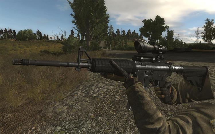 Original Weapons Renewal 3 S.T.A.L.K.E.R.: CoP Mod