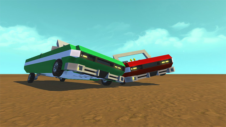 LowRider Ver2 Scrap Mechanic Mod screenshot