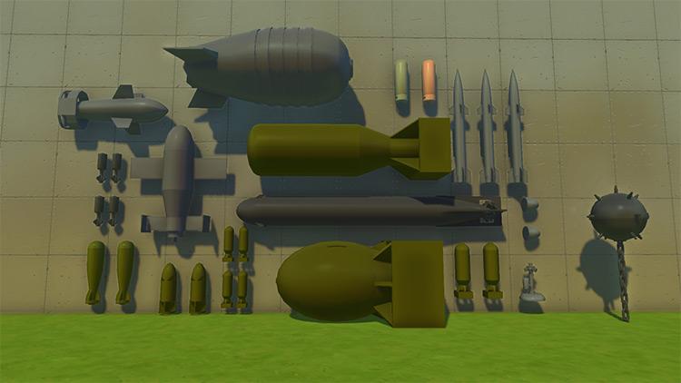 Bombs Mod for Scrap Mechanic