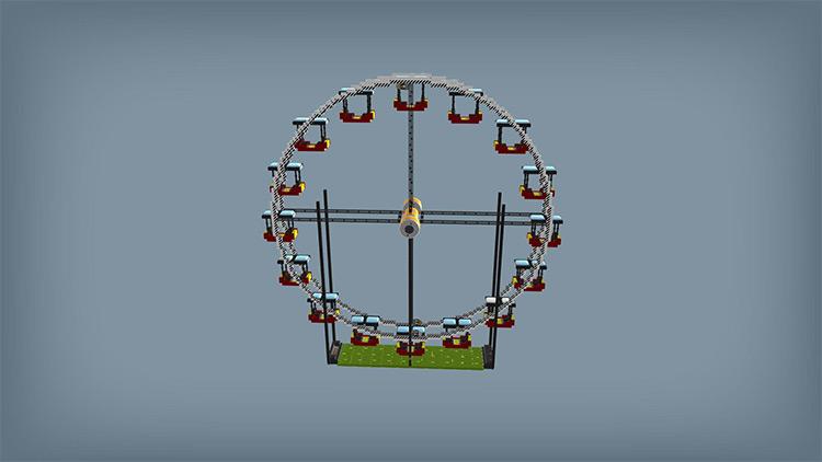 Ferris Wheel Scrap Mechanic Mod screenshot