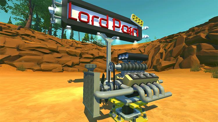 Modular Engine Parts by Lord Pain Scrap Mechanic Mod