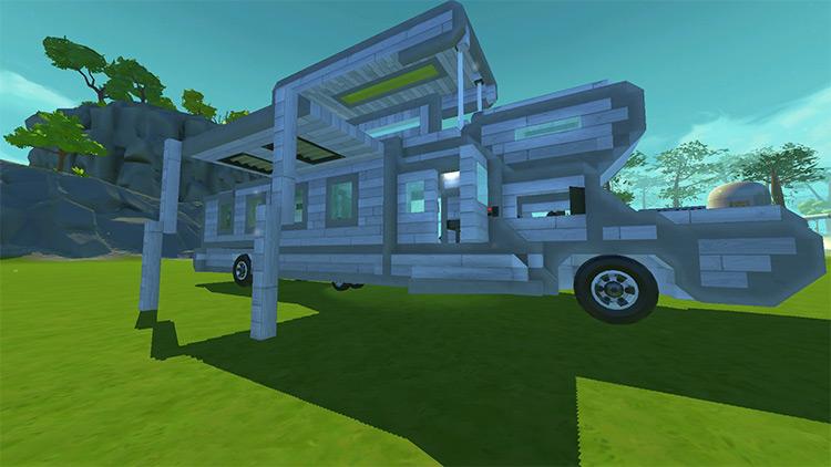 CoCi Camper v4.0 Mod for Scrap Mechanic
