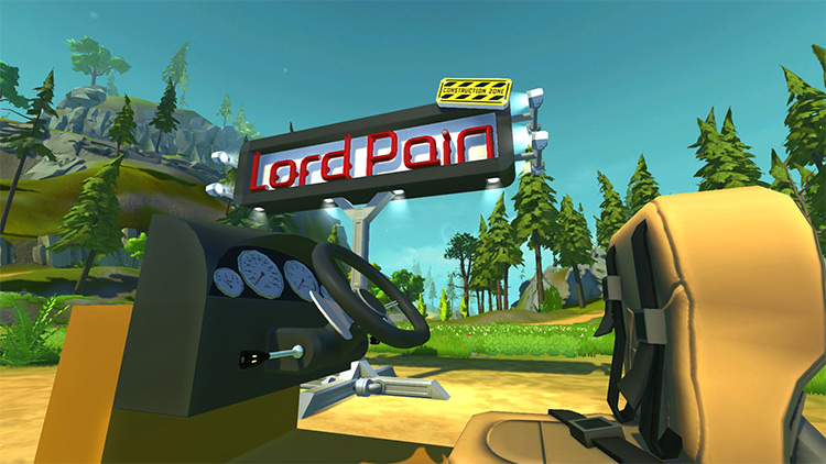 Car Interior Parts by Lord Pain Scrap Mechanic Mod