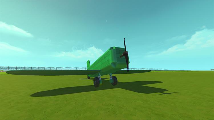 Wings Scrap Mechanic Mod screenshot