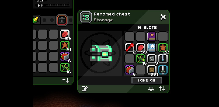 Improved Containers Mod for Starbound