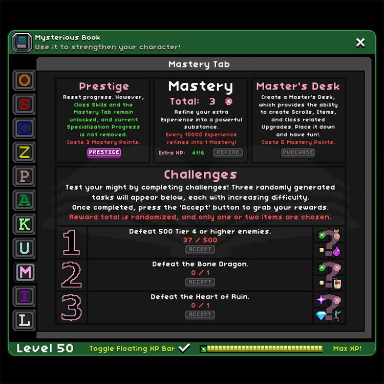 RPG Growth Starbound Mod screenshot
