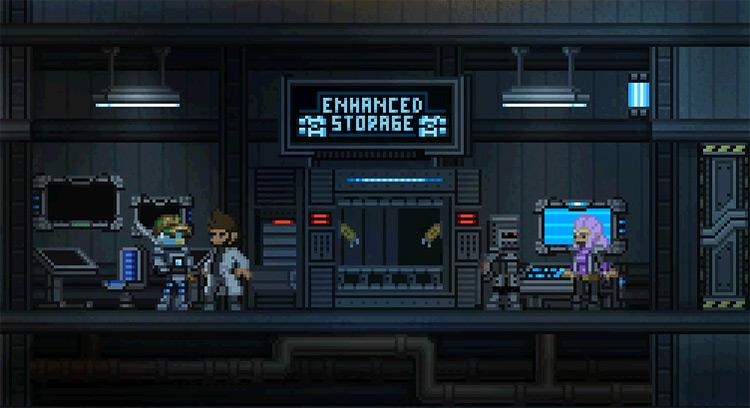 Enhanced Storage Starbound Mod