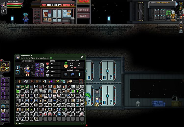Bl3k's Inventory Mod for Starbound