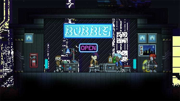 Cyberpunk Stylist Starbound Mod