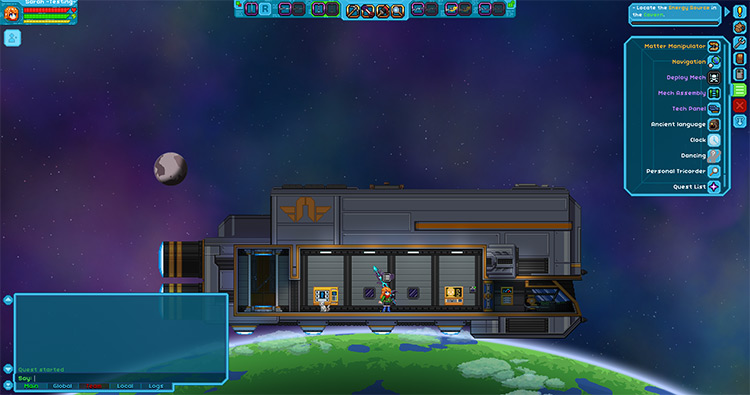 HoloHUD Interface Mod for Starbound