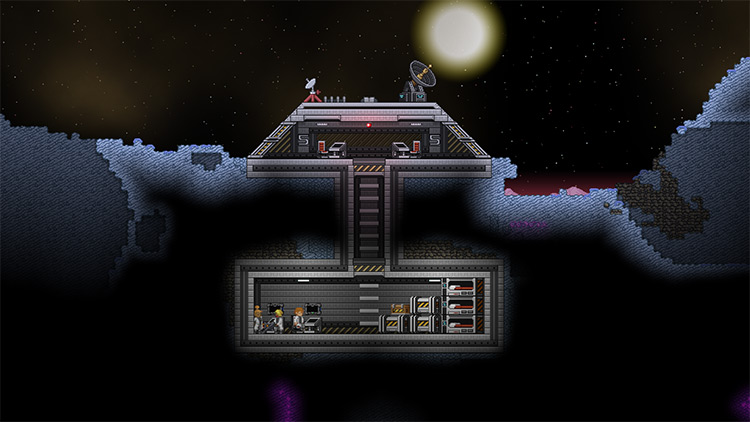 Less Dead Moons Starbound Mod
